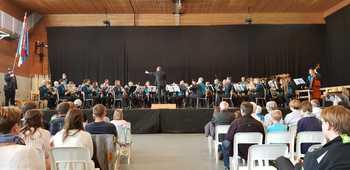 3. Rang Konzertmusik und 1. Rang Parademusik am KMF