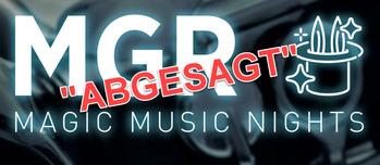 MGR Music Nights abgesagt